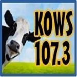 Logo da emissora Radio KOWS 107.3 FM