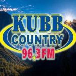Logo da emissora KUBB 96.3 FM Country