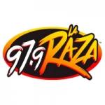 Logo da emissora Radio KLAX 97.9 FM
