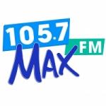 Logo da emissora Radio XHPRS 105.7 FM