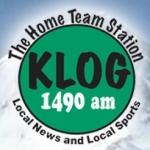 Logo da emissora KLOG 1490 AM