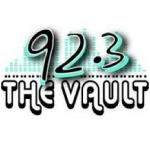 Logo da emissora KJYE 92.3 FM The Vault