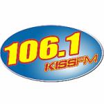 Logo da emissora Radio WDKS Kiss 106.1 FM