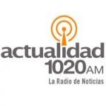 Logo da emissora Actualidad 1020 AM