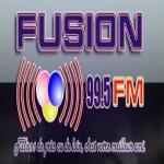 Logo da emissora Radio Fusion 99.5 FM