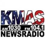 Logo da emissora KMAS 1030 AM