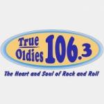 Logo da emissora Radio WJQB 106.3 FM