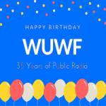 Logo da emissora Radio WUWF 88.1 FM