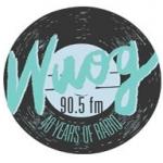 Logo da emissora Radio WUOG 90.5 FM