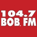 Logo da emissora KIKX 104.7 FM BOB