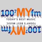 Logo da emissora Radio KSNA 100.7 FM