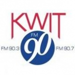 Logo da emissora KWIT 90.3 FM