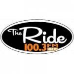 Logo da emissora Radio KRDQ The Ride 100.3 FM