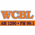Logo da emissora Radio WCBL 1290 AM 99.1 FM