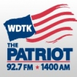 Logo da emissora WDTK 1400 AM The Patriot