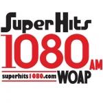 Logo da emissora WOAP 1080 AM