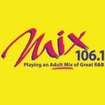 Logo da emissora WMXU 106.1 fm
