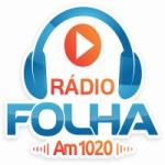 Logo da emissora Rádio Folha 1200 AM