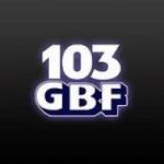 Logo da emissora Radio WGBF 103 GBF 103.1 FM