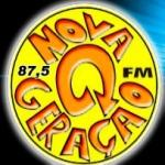 Logo da emissora R�dio Nova Gera��o 87.5 FM