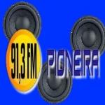 Logo da emissora Radio Pioneira 91.3 FM