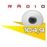 Logo da emissora R�dio Vis�o 104.9 FM