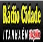 Logo da emissora Rádio Cidade Itanhém 104.9 FM