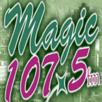 Logo da emissora KRPM Magic 107.5 FM