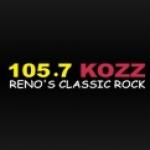 Logo da emissora KOZZ 105.7 FM