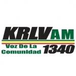 Logo da emissora KRLV 1340 AM