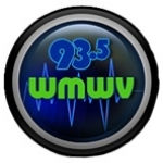 Logo da emissora WMWV 93.5 FM