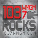 Logo da emissora WMGM 103.7 FM