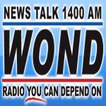 Logo da emissora WOND 1400 AM