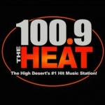 Logo da emissora KRAJ 100.9 FM The Heat