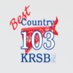 Logo da emissora KRSB 103.1 FM