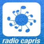 Logo da emissora Radio Capris 95.6 FM
