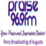 Logo da emissora WTHB 96.9 FM
