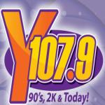Logo da emissora WXYY 107.9 FM
