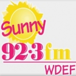Logo da emissora WDEF 92.3 FM