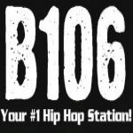 Logo da emissora KQXB 106.1 FM
