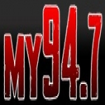 Logo da emissora KBSO 94.7 FM
