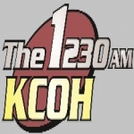 Logo da emissora KCOH 1430 AM