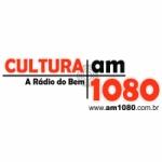 Logo da emissora Rádio Cultura 1080 AM