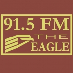 Logo da emissora WJHS 91.5 FM The Eagle