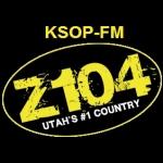 Logo da emissora KSOP 104.3 FM