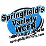 Logo da emissora WCFR 106.5 FM