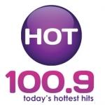 Logo da emissora WHTI 100.9 FM