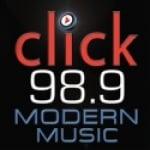 Logo da emissora KLCK 98.9 FM