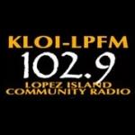Logo da emissora KLOI 102.9 FM