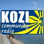 Logo da emissora KOZI 93.5 FM